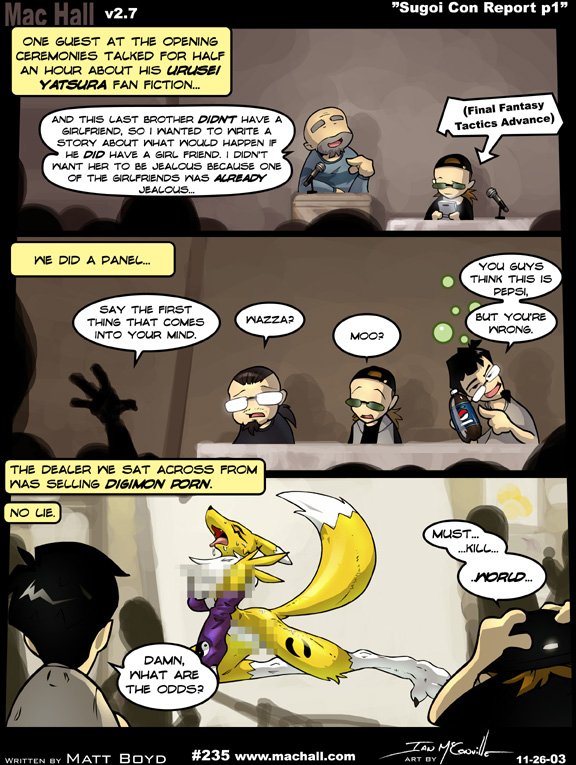 The big imageboard tbib canine censored comic convention digimon fox ian mcconville mac hall - Www living hall digion ...